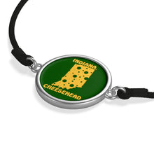 Load image into Gallery viewer, INDIANA Cord Bracelet ( GREEN )