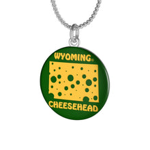 Load image into Gallery viewer, WYOMING Single Loop Necklace (GREEN)