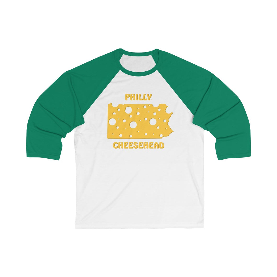 PHILADELPHIA ( PHILLY ) Unisex 3/4 Sleeve Baseball Tee