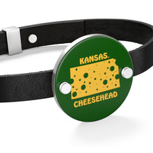 Load image into Gallery viewer, KANSAS Leather Bracelet