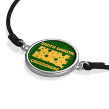 Load image into Gallery viewer, SOUTH DAKOTA Cord Bracelet ( GREEN )