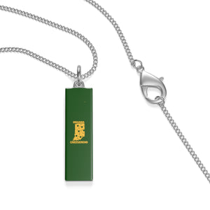 INDIANA Single Loop Necklace (GREEN)