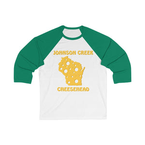 JOHNSON CREEK Unisex 3/4 Sleeve Baseball Tee