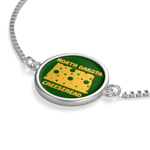 Load image into Gallery viewer, NORTH DAKOTA Box Chain Bracelet