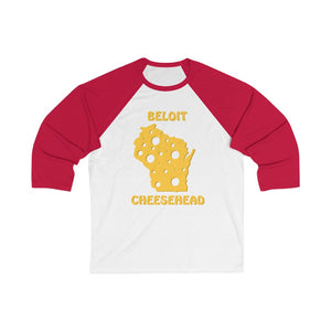 BELOIT Unisex 3/4 Sleeve Baseball Tee