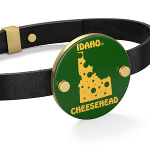 IDAHO Leather Bracelet
