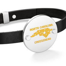 Load image into Gallery viewer, NORTH CAROLINA Leather Bracelet