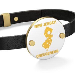 NEW JERSEY Leather Bracelet