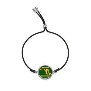 MARYLAND Cord Bracelet ( GREEN )