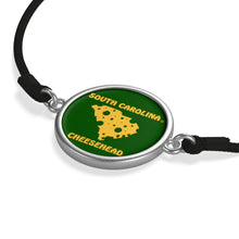 Load image into Gallery viewer, SOUTH CAROLINA Cord Bracelet ( GREEN )