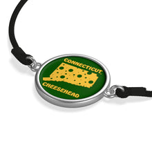 Load image into Gallery viewer, CONNECTICUT Cord Bracelet ( GREEN )