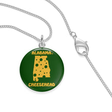 Load image into Gallery viewer, ALABAMA Single Loop Necklace (GREEN)