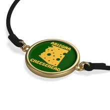 Load image into Gallery viewer, ARIZONA  Cord Bracelet ( GREEN )