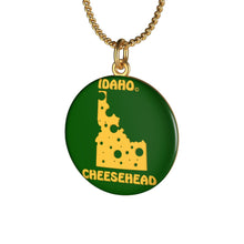 Load image into Gallery viewer, IDAHO Single Loop Necklace (GREEN)