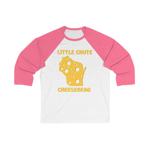 LITTLE CHUTE Unisex 3/4 Sleeve Baseball Tee