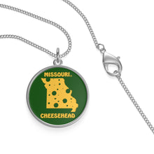 Load image into Gallery viewer, MISSOURI Single Loop Necklace (GREEN)