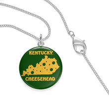 Load image into Gallery viewer, KENTUCKY Single Loop Necklace (GREEN)