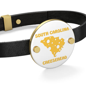 SOUTH CAROLINA Leather Bracelet