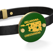 Load image into Gallery viewer, OKLAHOMA Leather Bracelet