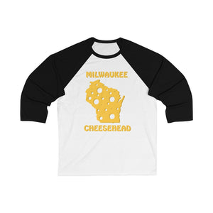 MILWAUKEE Unisex 3/4 Sleeve Baseball Tee
