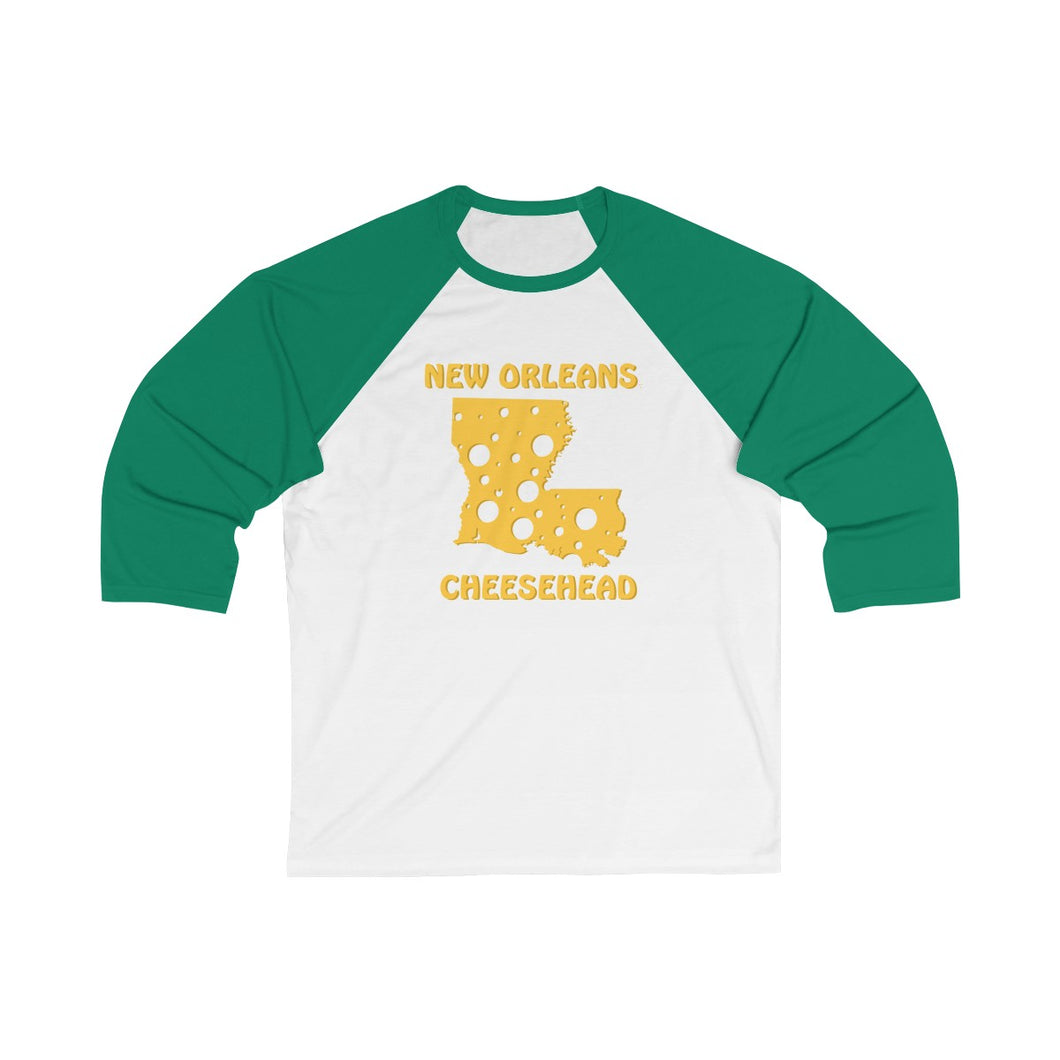 NEW ORLEANS Unisex 3/4 Sleeve Baseball Tee