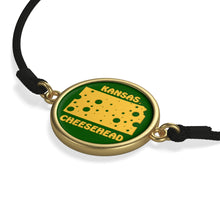 Load image into Gallery viewer, KANSAS Cord Bracelet ( GREEN )