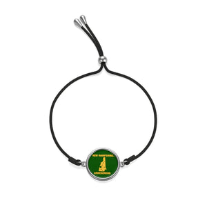 NEW HAMPSHIRE Cord Bracelet ( GREEN )