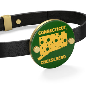 CONNECTICUT Leather Bracelet