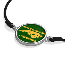 Load image into Gallery viewer, NORTH CAROLINA Cord Bracelet ( GREEN )