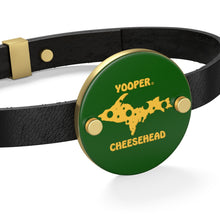 Load image into Gallery viewer, YOOPER  Leather Bracelet