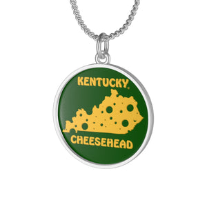 KENTUCKY Single Loop Necklace (GREEN)