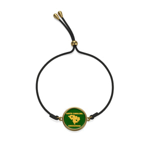 SOUTH CAROLINA Cord Bracelet ( GREEN )
