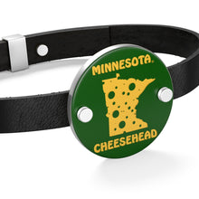 Load image into Gallery viewer, MINNESOTA Leather Bracelet