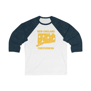 NEW ENGLAND Unisex 3/4 Sleeve Baseball Tee