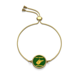 WEST VIRGINIA Box Chain Bracelet