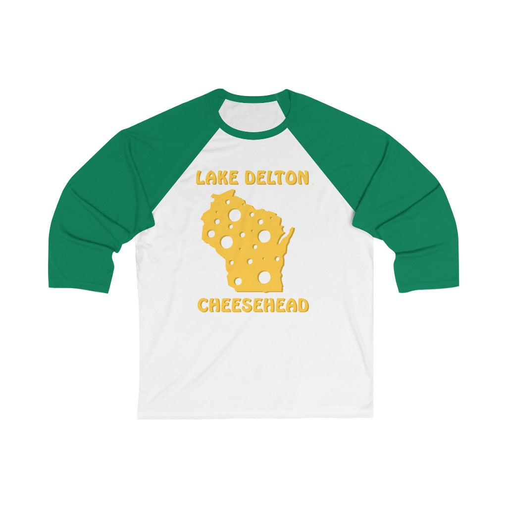 LAKE DELTON Unisex 3/4 Sleeve Baseball Tee