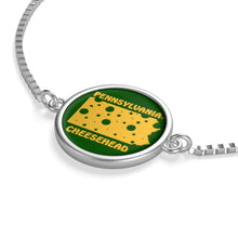 Load image into Gallery viewer, PENNSYLVANIA Box Chain Bracelet