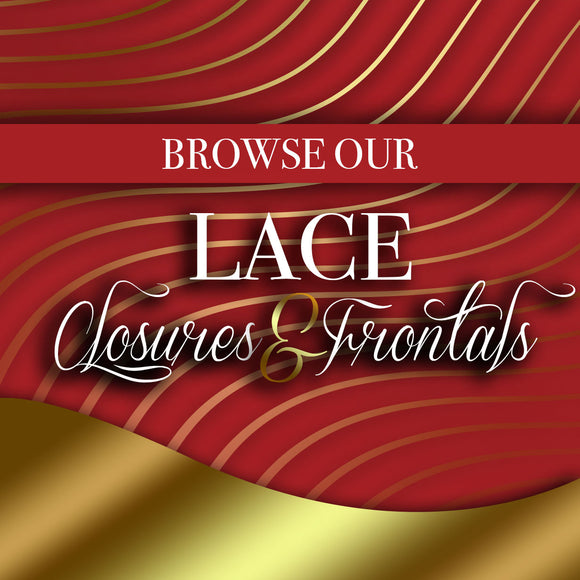 Lace Closures and Frontals