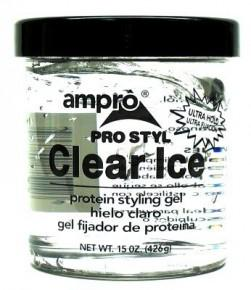 Ampro Clear Ice Ultra Hold Gel- 16 oz