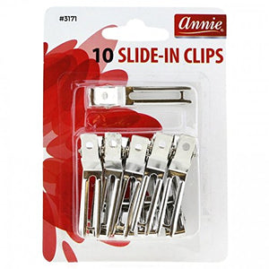 Annie Slide-In Clips 10 pc