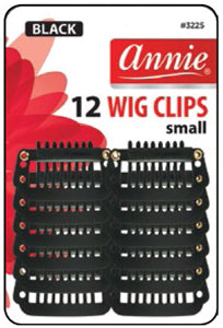 Annie Wig Clips- Small 12 pcs