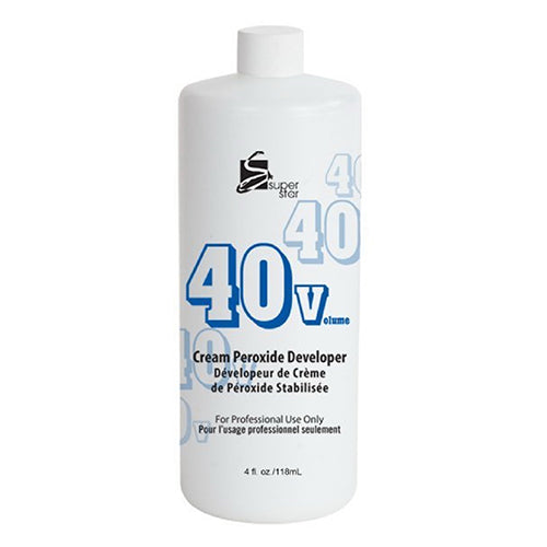 Super Star Cream Peroxide Developer 40 Volume - 4 Oz