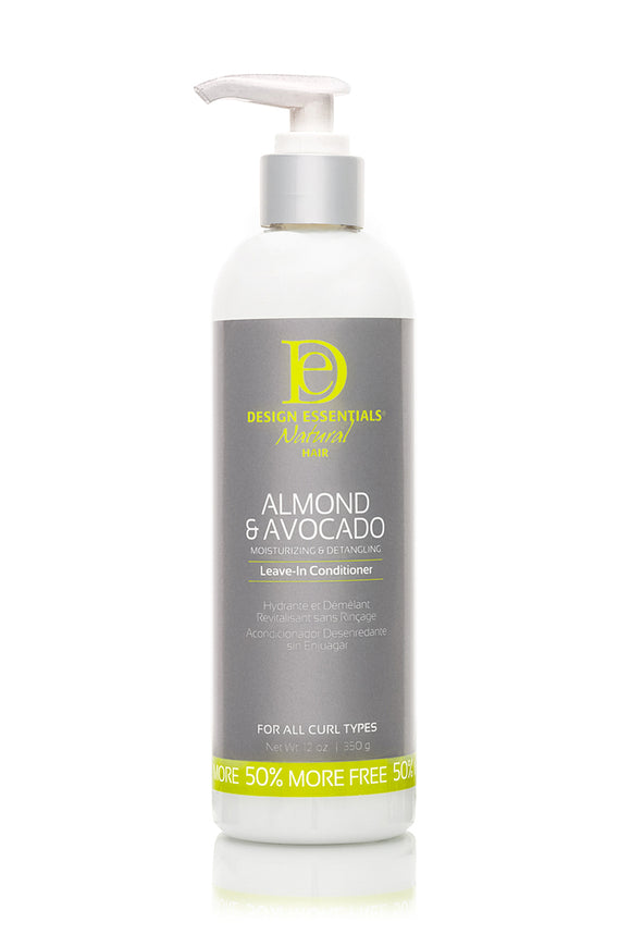 Design Essentials Almond & Avocado Natural Detangling Leave-In Conditioner