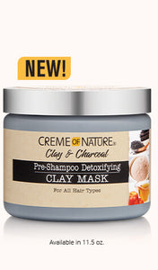 Creme of Nature Clay & Charcoal Clay mask
