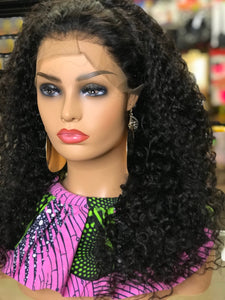 Bohemian Small Wave Lace Front Wig