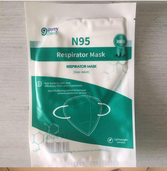 N95 Personal Protective Disposable Face Mask