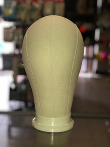 Canvas Wig Block- 22""