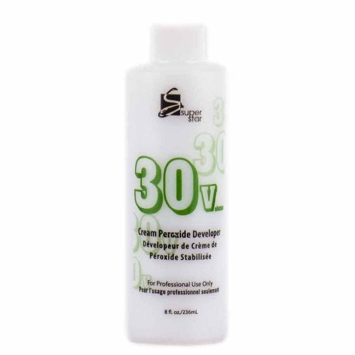 Super Star Cream Peroxide Developer 30 Volume- 8oz