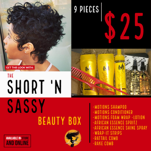 Short 'N Sassy Beauty Box