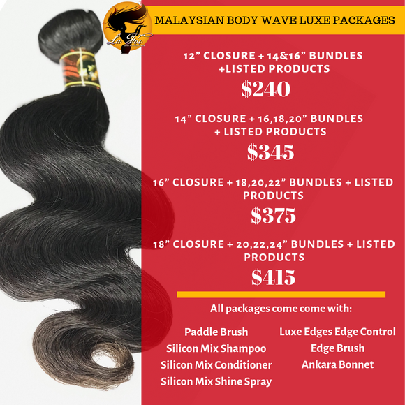 Malaysian body Wave Luxe Packages